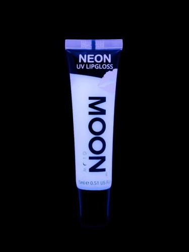 Weißer UV-Lipgloss mit Vanillearoma von Moonglow 15ml-1