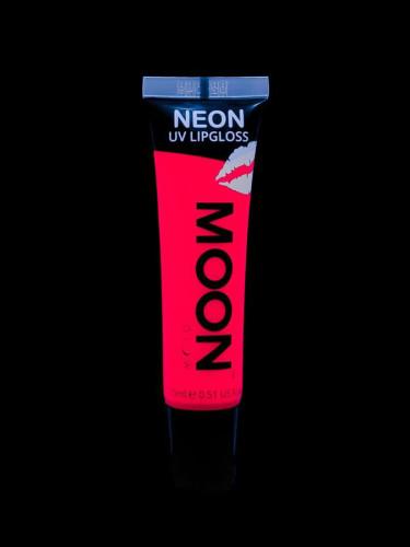 Roter UV-aktiver Neon Lippenstift mit Erdbeerduft von Moonglow 15ml-1