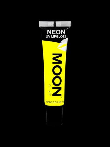 Gelber UV Lipgloss fluoreszierend mit Bananenduft von Moonglow 15ml-1