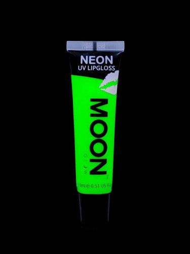 Neongrüner Lippenstift mit Apfelgeschmack Moonglow 15ml-1