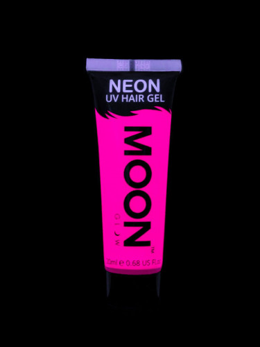 UV Haar-Gel fluoreszierend in Rosa von Moonglow 20 ml-1
