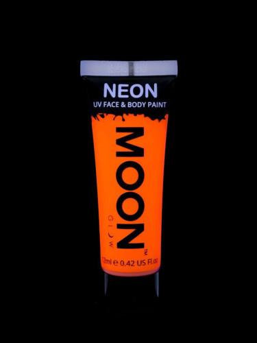 Orangefarbenes Körper- und Gesichtsgel von Moonglow 12ml-1