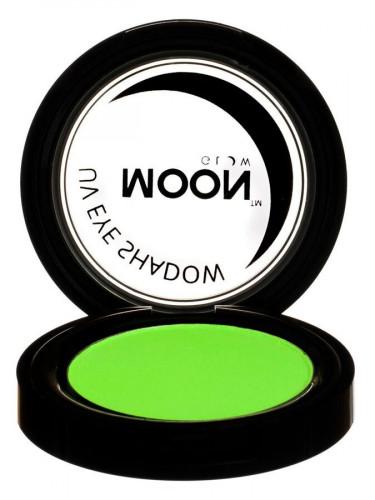 Grüner Lidschatten Moonglow © Leuchtet unter Schwarzlicht