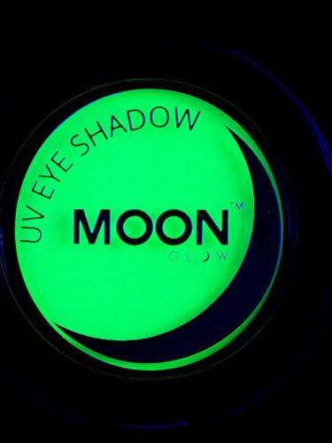 Grüner Lidschatten Moonglow © Leuchtet unter Schwarzlicht-1