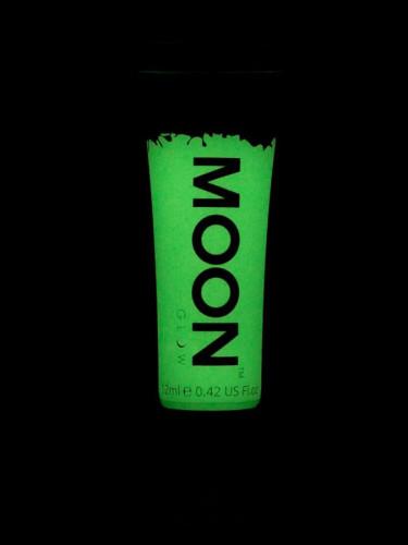 Gesichts- und Körpergel grün phosphoreszierend von Moonglow 12 ml-1