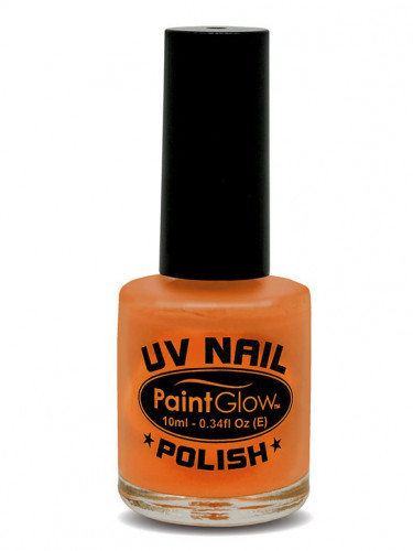 UV-leuchtender Nagellack orange 10 ml