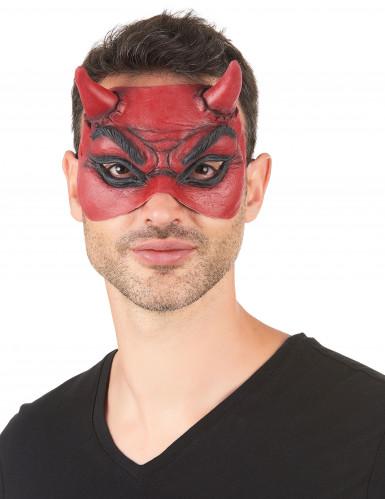 Teufel-Augenmaske aus Latex