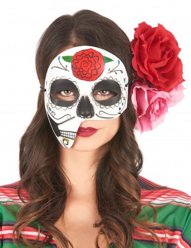 Asymmetrische Maske Dìa de los Muertos