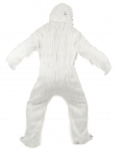 Deluxe Yeti Kostüm für Erwachsene weiß-2