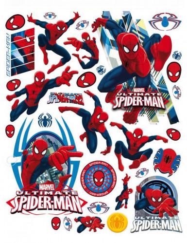Spiderman™ Fenster-Sticker Dekoset 42 x 30 cm