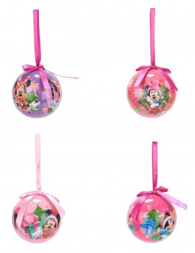 4 Weihnachtskugeln von Minnie™