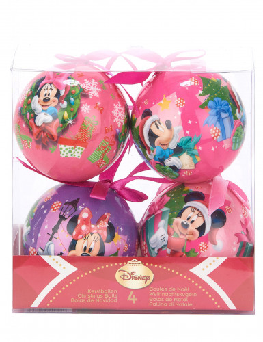4 Weihnachtskugeln von Minnie™-1