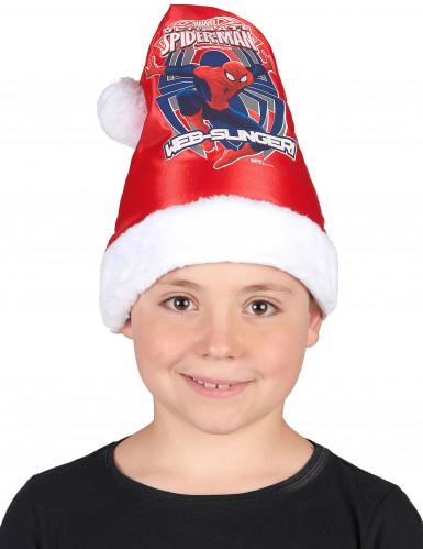 Spiderman™ Weihnachtsmütze für Kinder