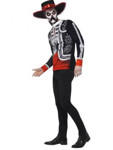 Skelett Mexikaner Tag der Toten Kostüm für Herren-1