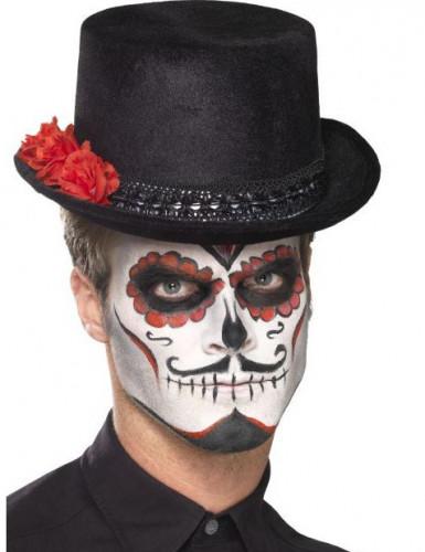 Dia de los Muertos Zylinder für Erwachsene-1