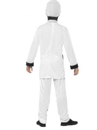 Weißes Ninjakostüm für Kinder-2