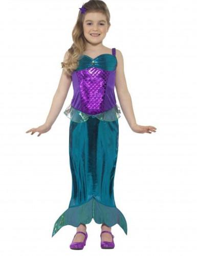 Kostüm Meerjungfrau für Mädchen!