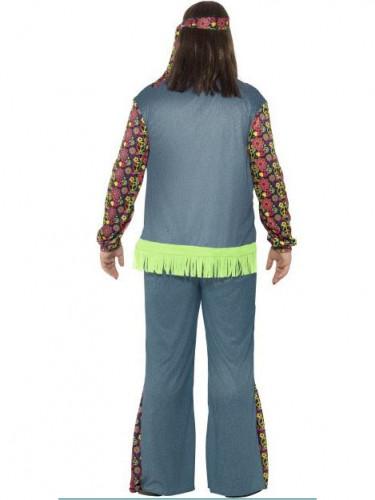 Hippie Kostüm für Herren bunt-2