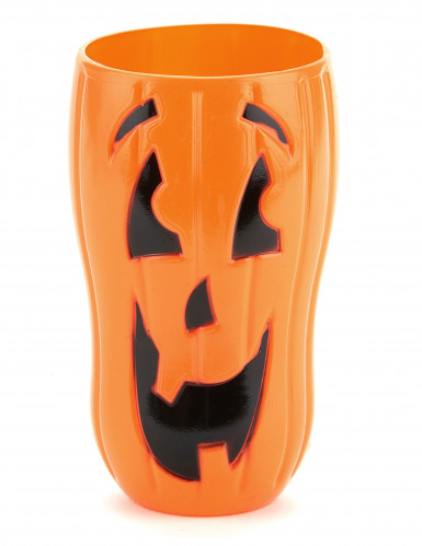 Kürbis-Trinkbecher für Halloween