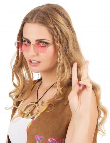 Hippie-Brille Herzen für Erwachsene-1