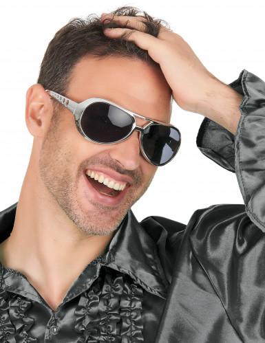 Brille im Biker-Look für Erwachsene-2
