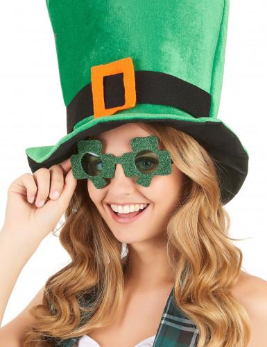 Kleeblatt Spaßbrille St. Patrick's Day-1
