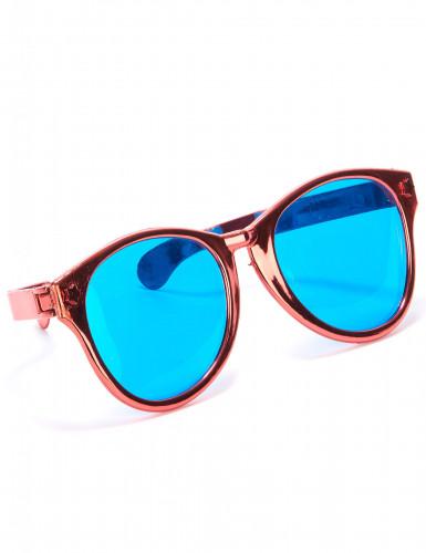 Riesige rote Brille für Erwachsene