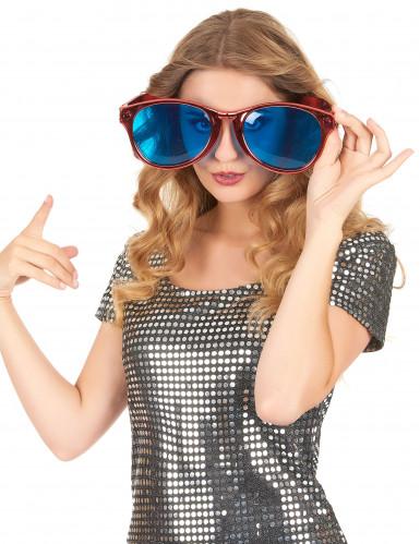 Riesige rote Brille für Erwachsene-1