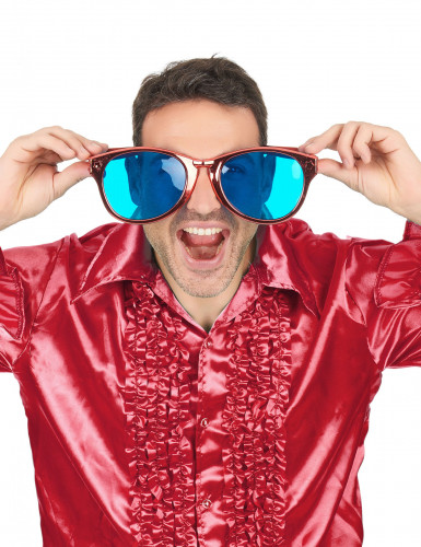 Riesige rote Brille für Erwachsene-2