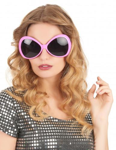 Brille Disco für Erwachsene in Rosa-1