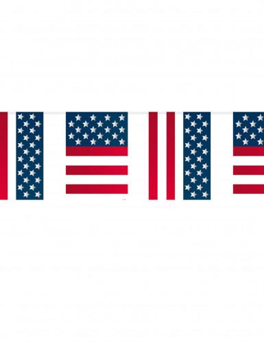 USA Flaggen-Girlande 10 Meter