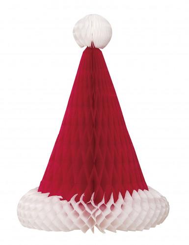 Tischdeko Weihnachtsmütze