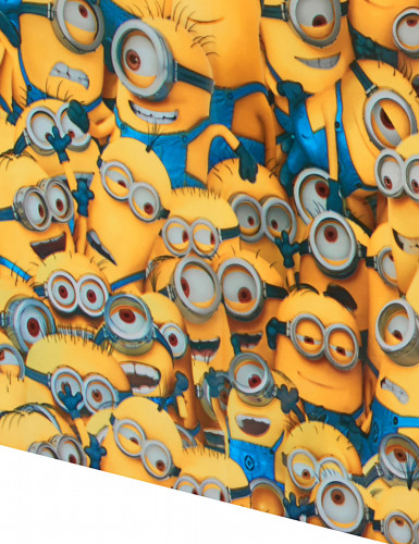 Schöne Minions™ Plastiktischdecke 120 x 180 cm-1