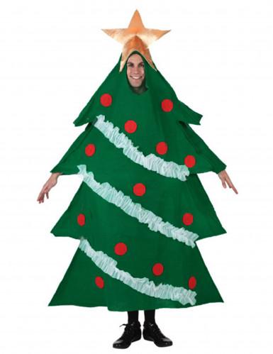 Weihnachtsbaum Kostüm für Erwachsene