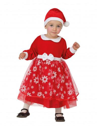 Schneeflocken Prinzessin-Kostüm für Kleinkinder