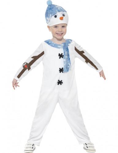 Schneemann-Kostüm für Kinder-1
