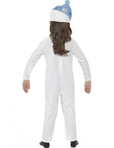 Schneemann-Kostüm für Kinder-2