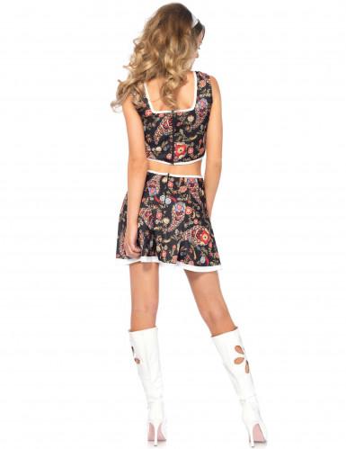 Schickes Hippie-Kostüm für Damen-2