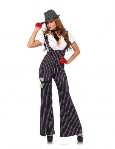 Gangster Kostüm für Damen