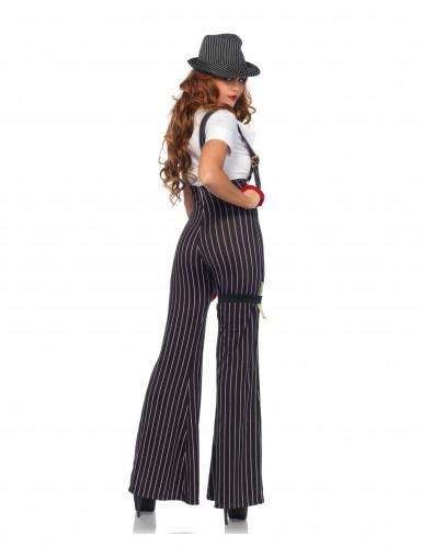 Gangster Kostüm für Damen-1