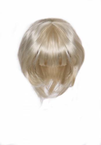 Blonde 3 in 1 Perücke für Damen-1