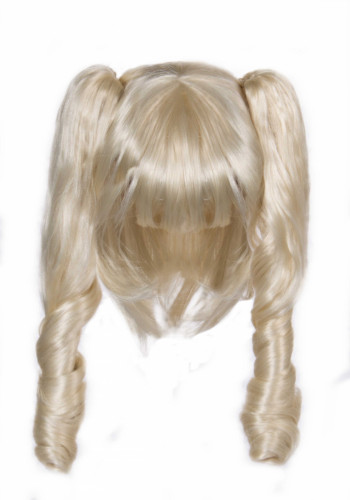 Blonde 3 in 1 Perücke für Damen-2