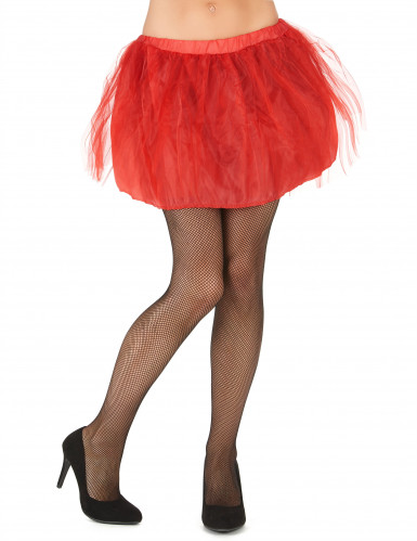 Tutu mit Tüll Petticoat für Damen rot
