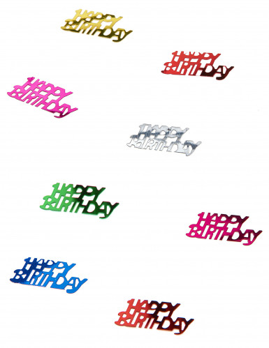 Happy Birthday Konfetti bunt 15g