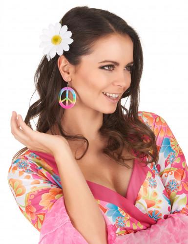Peace Hippie-Ohrringe für Erwachsene-1
