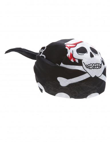 Pirat Totenschädel Bandana für Erwachsene