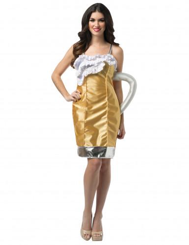 Bierkrug Kostüm für Damen