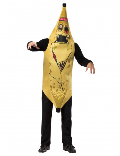 Zombie Bananenkostüm für Erwachsene