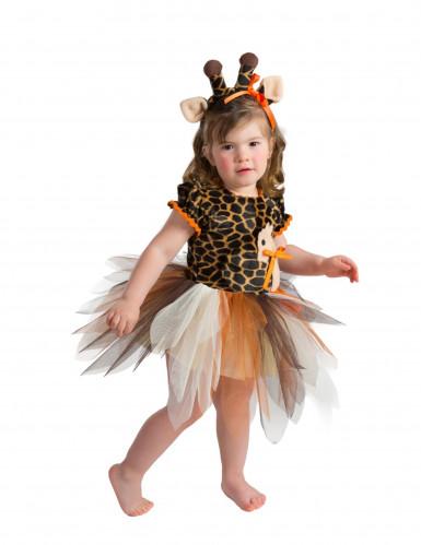 Hochwertiges Giraffenkostüm für Kleinkinder