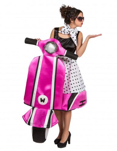 Premium-Kostüm Vespa der 60er Jahre für Frauen